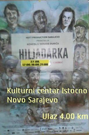 "FILM ""HILJADARKA"" 27.09.2015."