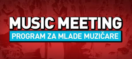 PRIJAVITE SE NA MUSIC MEETING