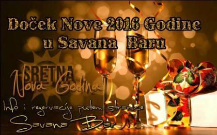 Savana Bar doček 2016. godine