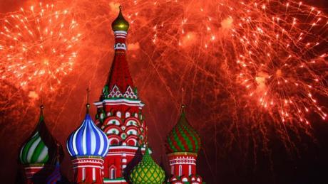 Moskva – Crveni trg zatvoren 31. decembra