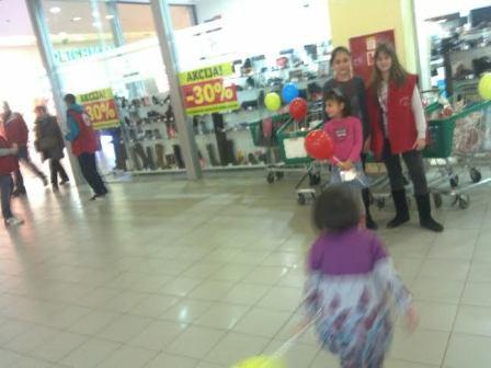 Humanitarna akcija danas u tržnom centru Bingo