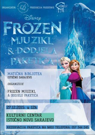 "Mjuzikl ""Frozen"" i dodjela paketića"