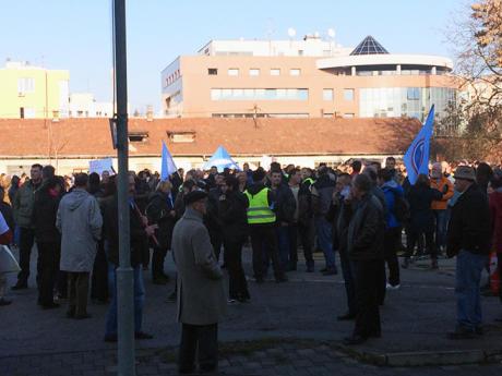 Današnji protesti Saveza sindikata Srpske