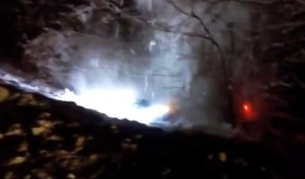 """Automobil upao u """"ambis"""" kod Kneževa! VIDEO"""
