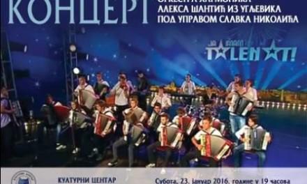 Koncert orkestra harmonike Kulturni centar
