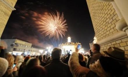 Vatrometi i pesma i za Srpsku Novu godinu