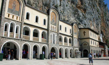 Manastir Ostrog, najposjećenije svetilište u Crnoj Gori
