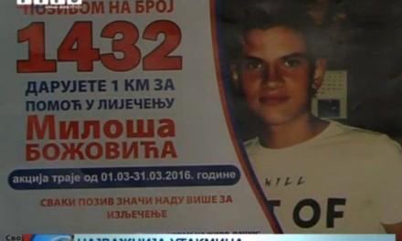 Pomozimo Milošu, pozovimo 1432!