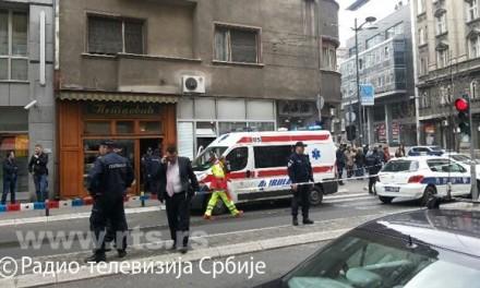 Самоубиство бомбом у центру Београда
