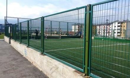 Нова ограда око дјечијег игралишта у парку Гаврило Принцип