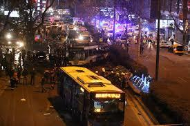 STRAVIČNE SCENE U ANKARI: Snimljen trenutak eksplozije u kojoj je ubijeno 34, a ranjeno 75 ljudi