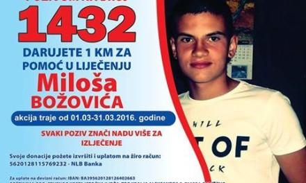 Bivši fudbalski velikani BiH i Srbije u utakmici za Miloša Božovića