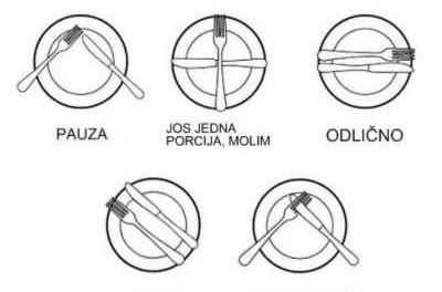 Kako servirati sto?