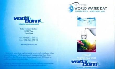22. mart – Svjetski dan voda: Milijarda ljudi nema pristup pitkoj vodi