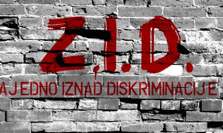 """ZID – """"Zajedno iznad diskriminacije"""" Spasovdanska 18.03."""