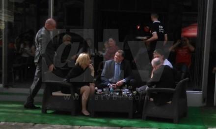Dodik u centru Banjaluke u zanimljivom društvu (FOTO, VIDEO)