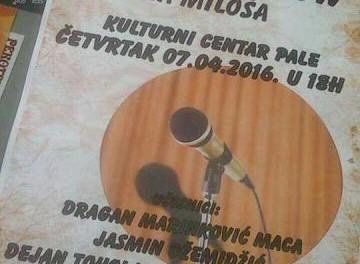 Pozivamo Vas na STAND UP Manifest, koji organizuje Omladina Grada Istočnog Sarajeva