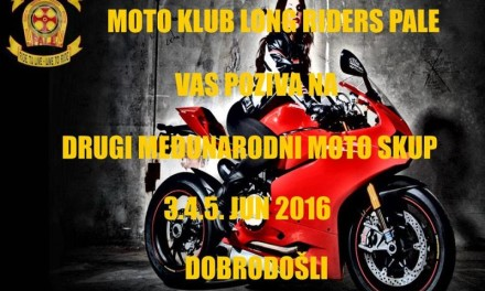 """Moto Klub """"Long Riders"""" Pale"""