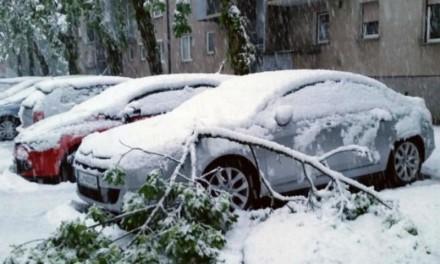 Snijeg paralizovao Sloveniju