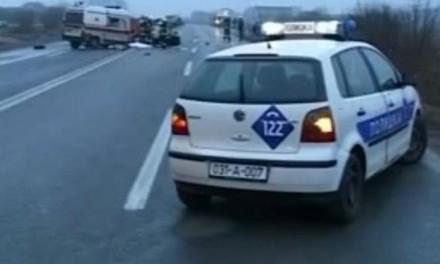 AMS RS: Zbog saobraćajne nezgode potpuna obustava saobraćaja na magistralnom putu Zvornik – Milići