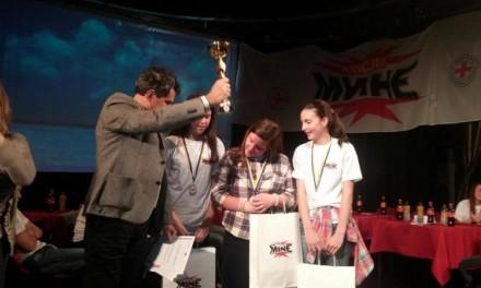 """Nakon pokazne vježbe u Kulturnom centru je održano Državno takmičenje """"Misli Mine""""."""