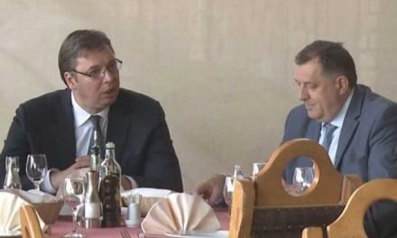 Додик, Вучић: Очувати мир и стабилност