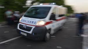 PALE-Povrijeđena dva lica u sudaru autobusa i automobila 25. maj 2016.