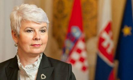 Jadranka Kosor: Potrebno je mnogo rada i reformi da bi BiH ušla u EU