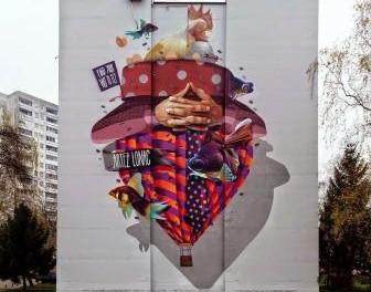 Mural iz Banja Luke