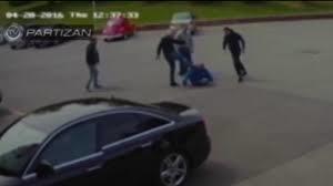 Nemontirani snimak napada na generalnog direktora FK Partizan Miloša Vazuru