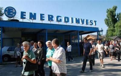 Radnicima Energoinvest – Rasklopna oprema nisu uplaćene zaostale plate