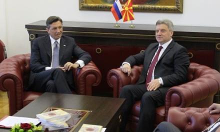 Skoplje: Održan trilateralni sastanak između predsjednika Makedonije, Slovenije i Hrvatske