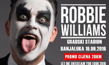 Saznajemo: Robi Vilijams dolazi u Banjaluku (VIDEO)