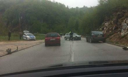 Teška saobraćajna nesreća na putu Pale