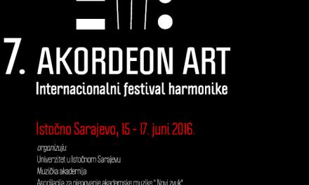 """Prijava takmičara za 7. Internacionalni festival harmonike """"AKORDEON ART"""""""