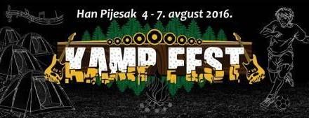 Sutra počinje Kamp Fest