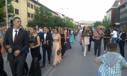 Maturska šetnja, Srednja škola 28. Juni Istočno Sarajevo. Maj 2016