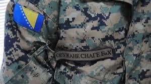 INTERNI OGLAS za prijem kandidata u profesionalnu vojnu službu u početnom činu podoficira Oružanih snaga Bosne i Hercegovine