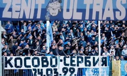 KAD BRAĆA RUSI ZAGRME: Kosovo je Srbija! UEFA je mafija! (VIDEO)