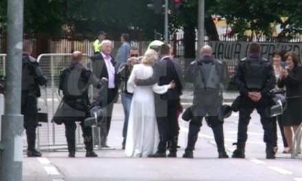 Ljubav ne haje za mitinge i proteste (VIDEO)