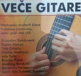 Veče gitare u Kulturnom centru Istočno Novo Sarajevo