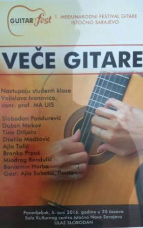 veče gitare