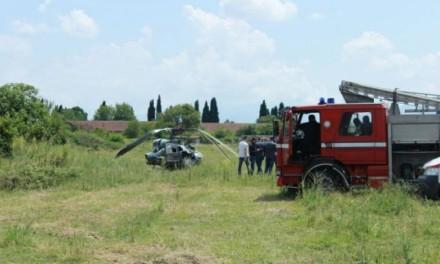 PODGORICA: Pao vojni helikopter , dvije osobe povrijeđene