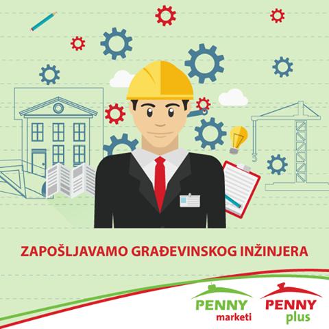 Građevinski Inženjer Penny plus (m/ž)
