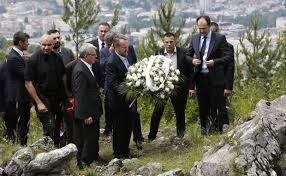 Izetbegović na Kazanima: Dug prema žrtvama