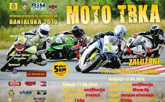 moto-trke bl
