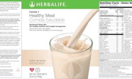 Herbalife šejk = toksična kancerogena hemija