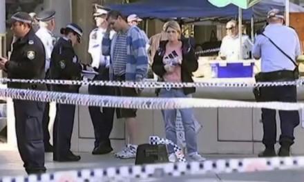 PUCNJAVA U TRŽNOM CENTRU: Pomahnitali muškarac vitlao nožem, policija otvorila vatru (FOTO)