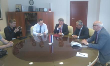 """Ministar Predrag Gluhaković razgovarao sa novinarima Ruske novinske agencije """"Sputnik"""" i predsjednikom FIJET-a"""