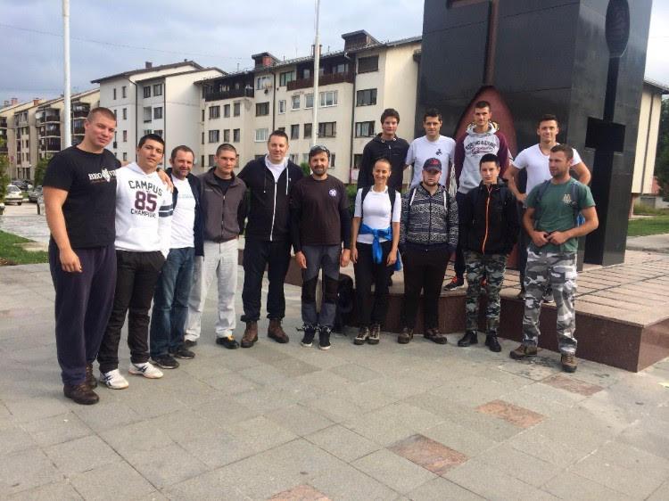 """radnici Olimpijskog centra """"Jahorina"""" dali podršku akciji uređivanja staza za trčanje"""